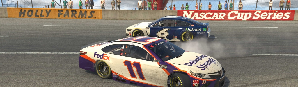 Denny Hamlin comments on the bump-n-run with Ross Chastain (Video)