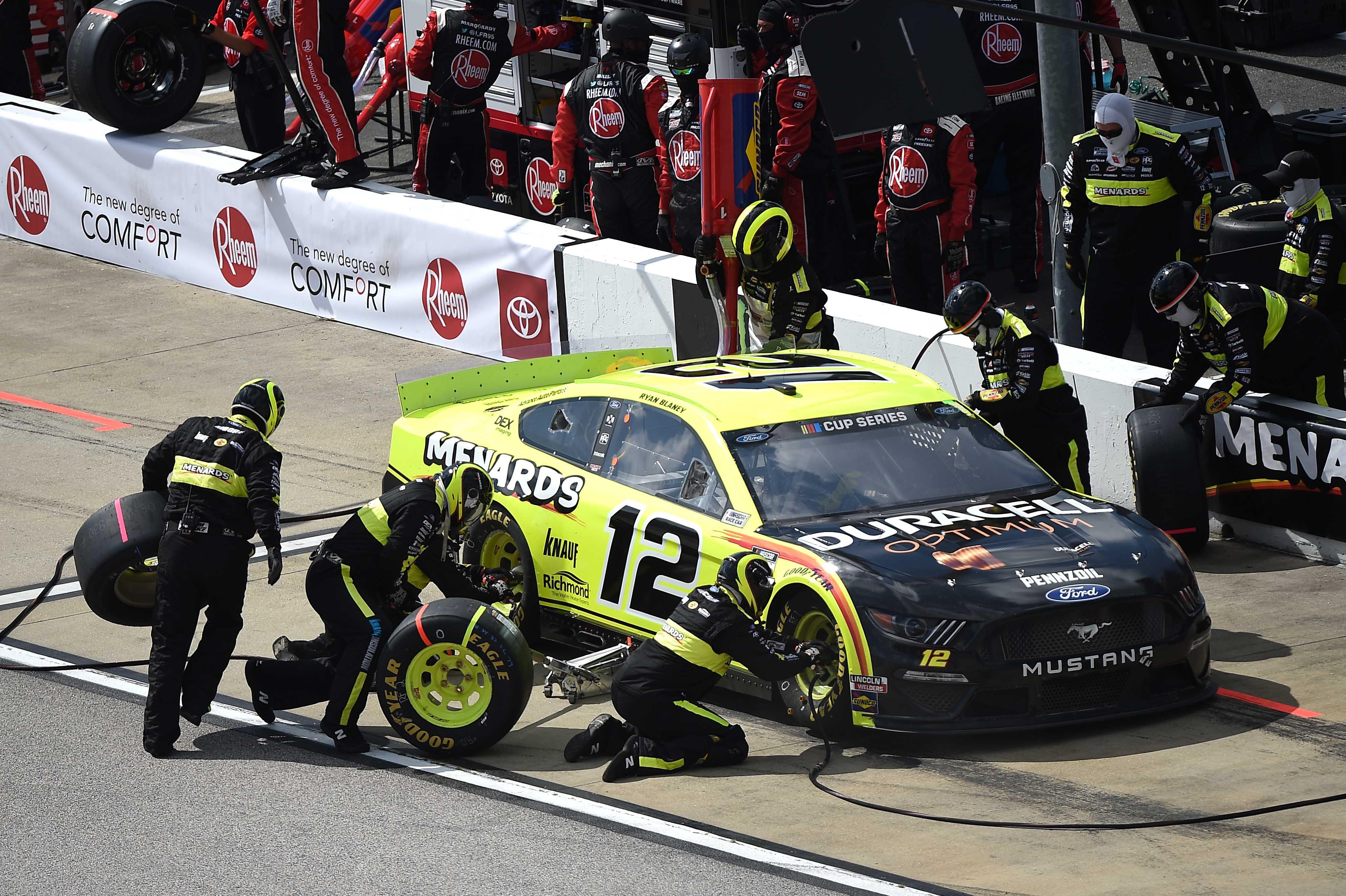 Ryan Blaney - NASCAR Pit Stop - Darlington Raceway