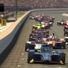 Scott McLaughlin leads at Indianapolis Motor Speedway - INDYCAR iRacing