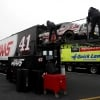 Stewart-Haas Racing hauler - Garage area - Cole Custer