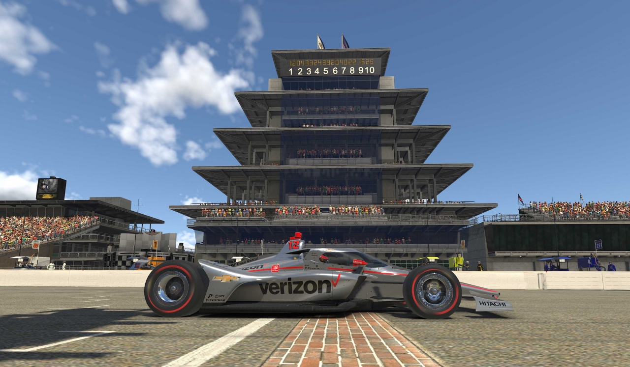 Will Power at Indianapolis Motor Speedway - INDYCAR iRacing