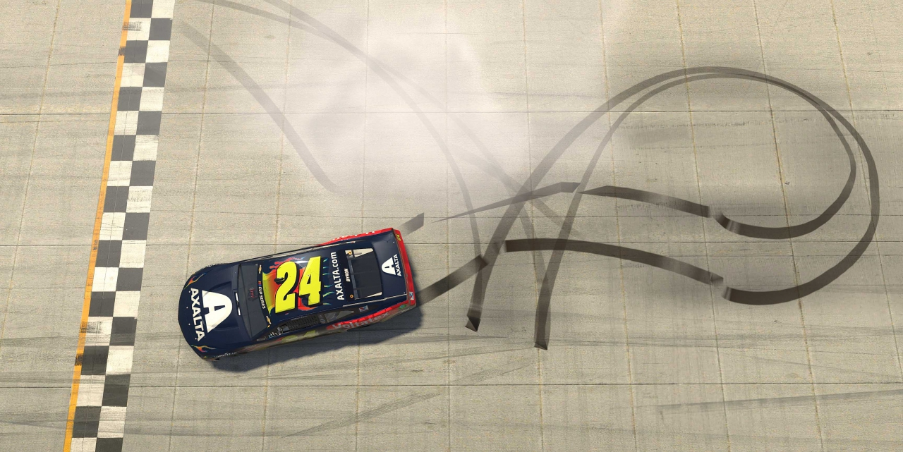 William Byron wins at Dover International Speedway - NASCAR iRacing