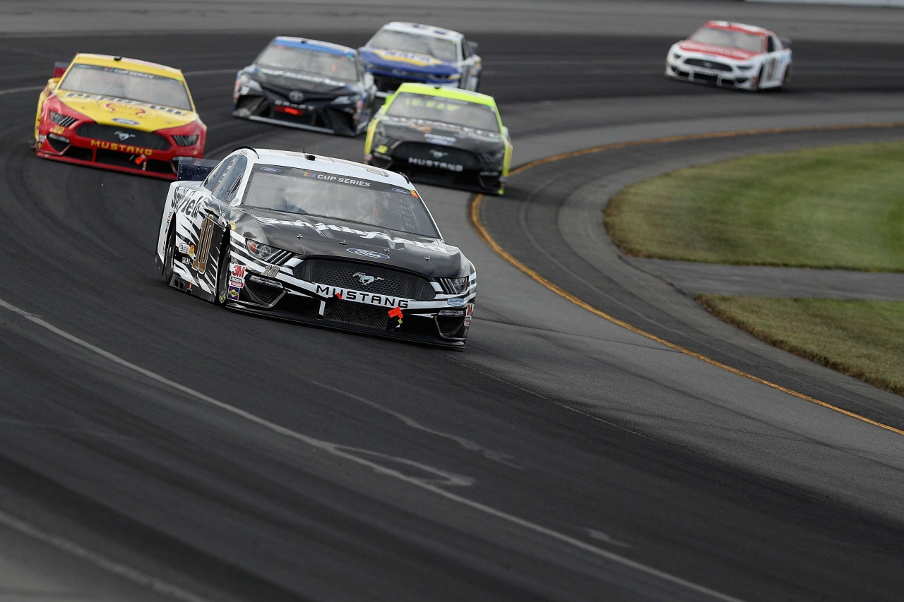 Aric Almirola at Pocono Raceway - NASCAR Cup Series