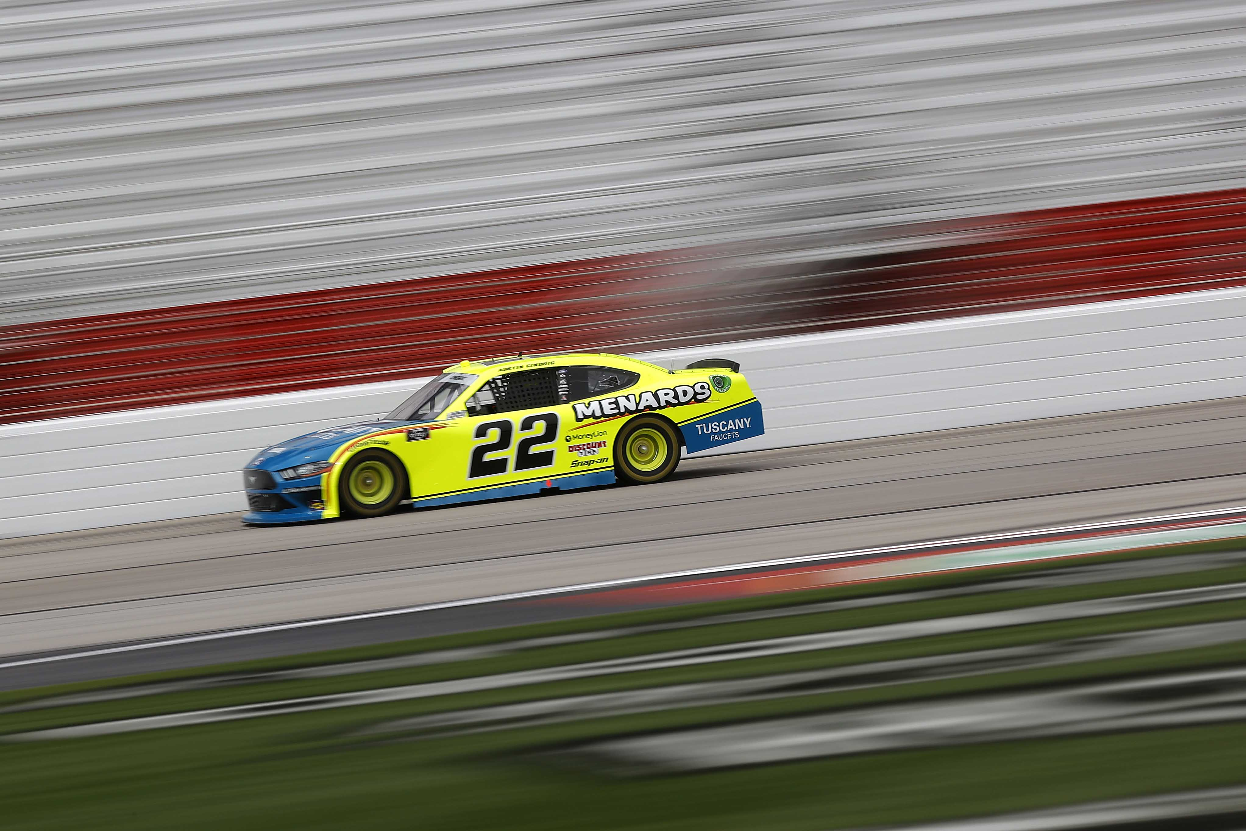 Austin Cindric at Atlanta Motor Speedway - NASCAR Xfinity Series