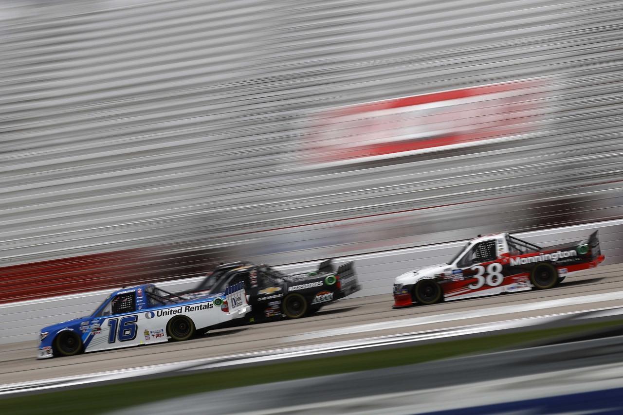 Austin Hill - Atlanta Motor Speedway - NASCAR Truck Series