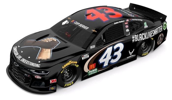 Black Lives Matter - NASCAR race car