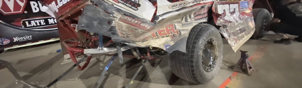 Bobby Pierce vs Kyle Strickler at Eldora Speedway