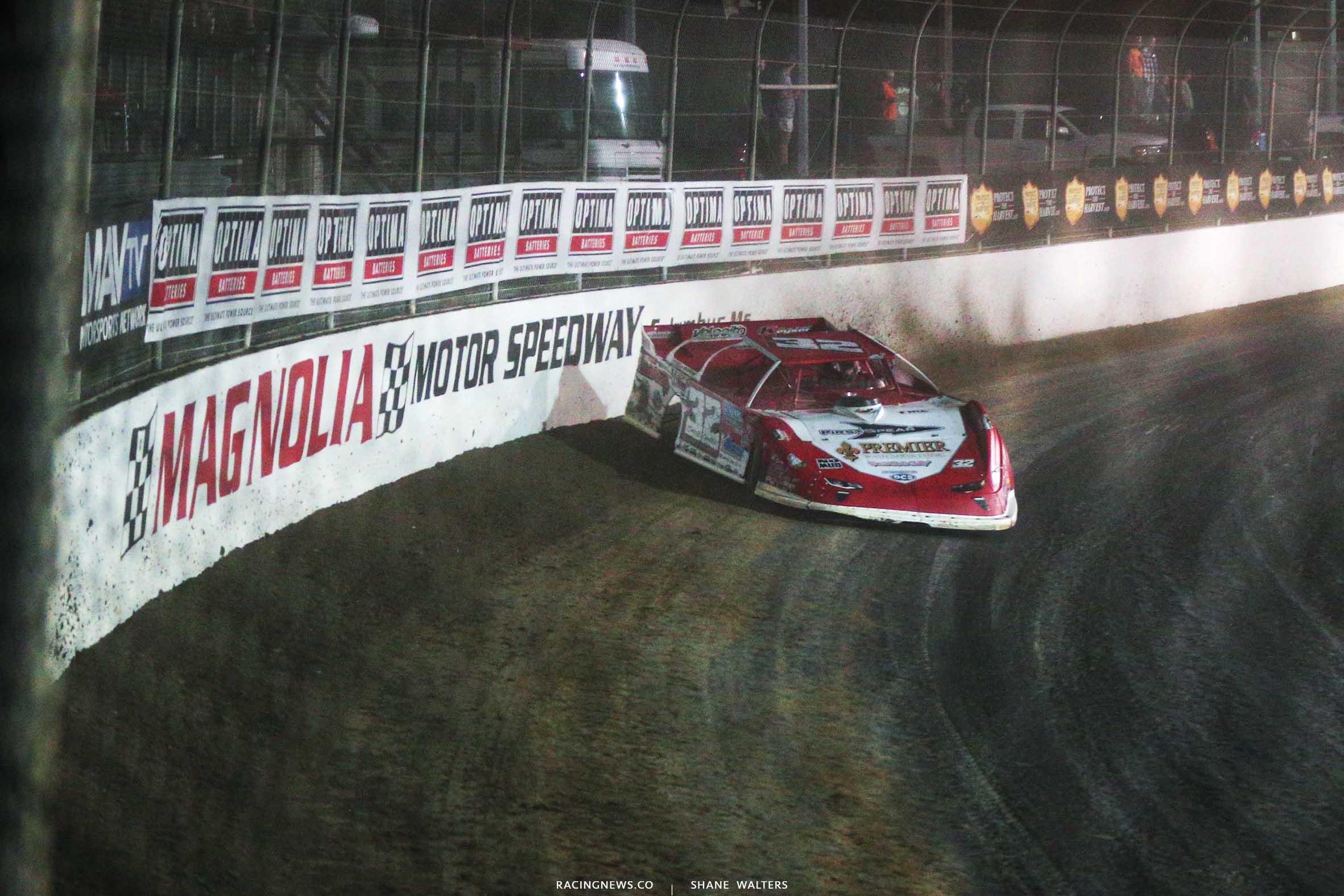 Bobby Pierce at Magnolia Motor Speedway - LOLMDS 6251