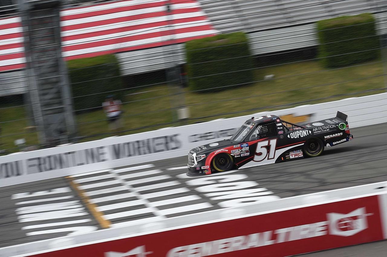 Brandon Jones at Pocono Raceway - NASCAR Truck Series