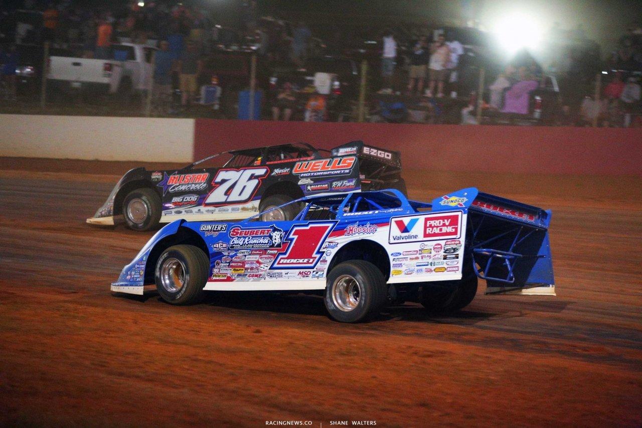 Brandon Overton and Brandon Sheppard at Smoky Mountain Speedway - Lucas Series 6131