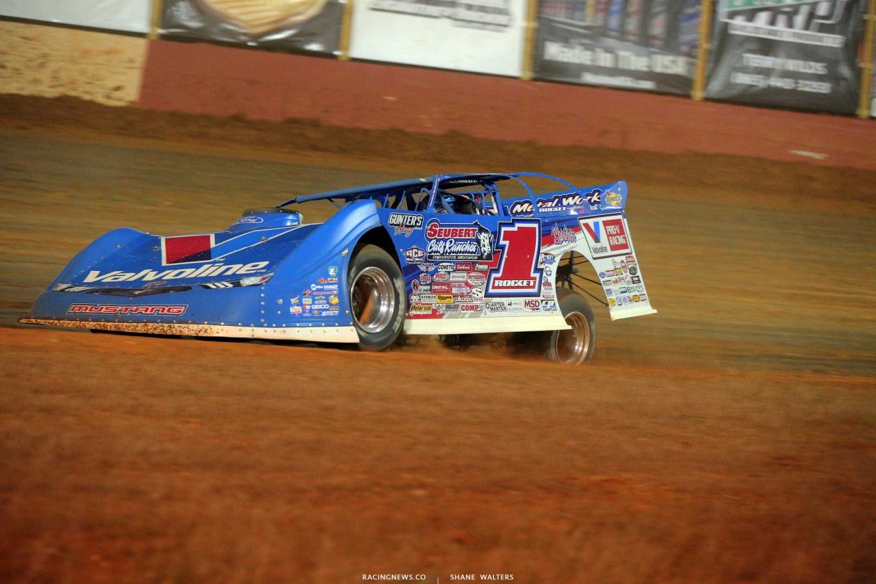 Brandon Sheppard at Smoky Mountain Speedway - Lucas Oil Series 6116