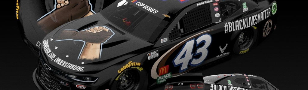 NASCAR driver Bubba Wallace to run Black Lives Matter paint scheme at Martinsville
