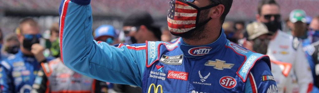 Bubba Wallace signs Kingsford Charcoal