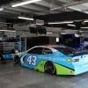 Bubba Wallace - NASCAR garage area at Talladega Superspeedway