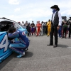 Bubba Wallace and Richard Petty at Talladega Superspeedway - NASCAR