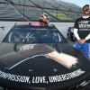 Bubba Wallace at Martinsville Speedway with the Black Lives Matter car - NASCAR Cup Series