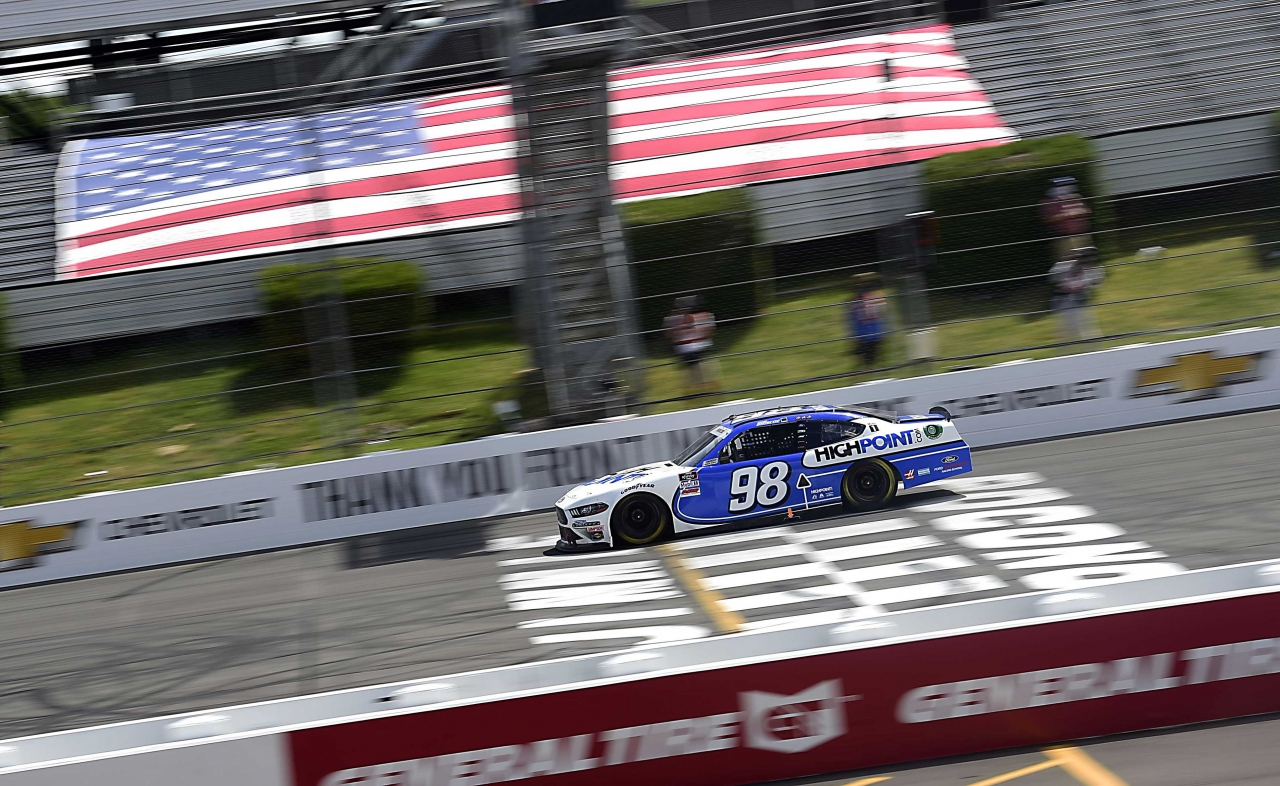 Chase Briscoe wins at Pocono Raceway in the NASCAR Xfinity Series race