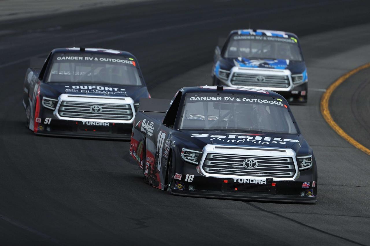 Christian Eckes at Pocono Raceway - NASCAR Truck Series