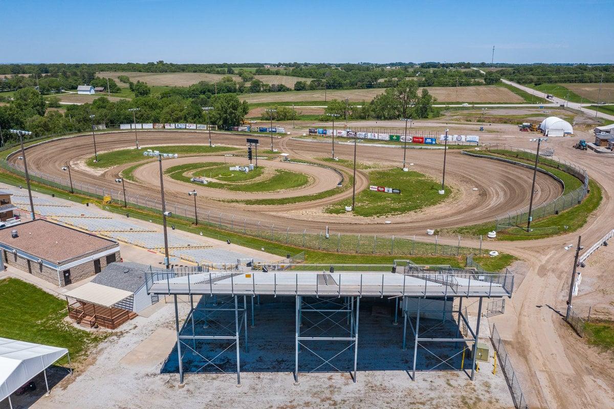 Eagle Raceway - Nebraska race track