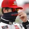 Harrison Burton in a mask - NASCAR Xfinity Series driver