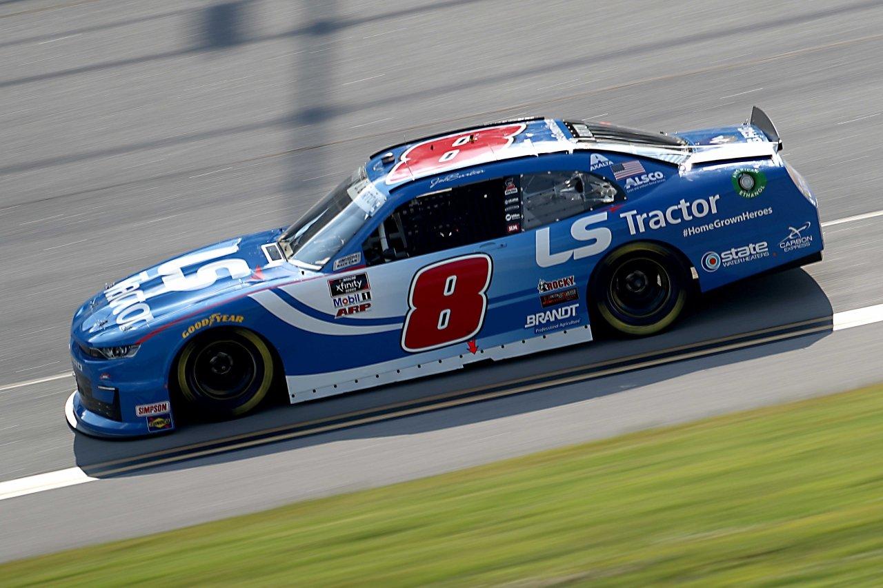 Jeb Burton at Talladega Superspeedway - NASCAR Xfinity Series