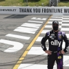 Jimmie Johnson at Pocono Raceway - NASCAR driver