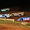 Jimmy Owens, Jonathan Davenport, Hudson O'Neal and Josh Richards on the Talladega Short Track - Lucas Oil Late Model Dirt Series 7638