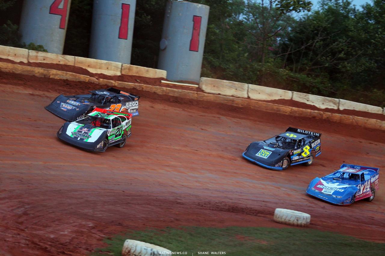 Jimmy Owens at 411 Motor Speedway - Lucas Oil Late Model Dirt Series 7289
