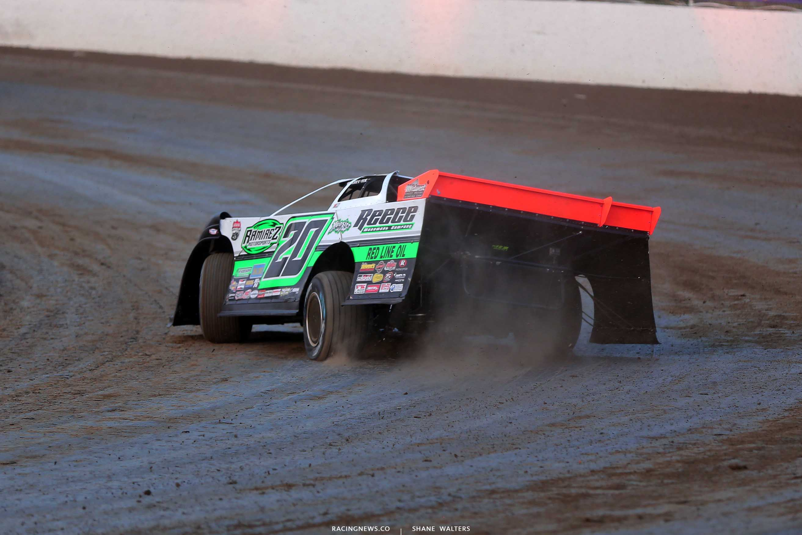 Jimmy Owens at Magnolia Motor Speedway - Dirt Late Model 6338