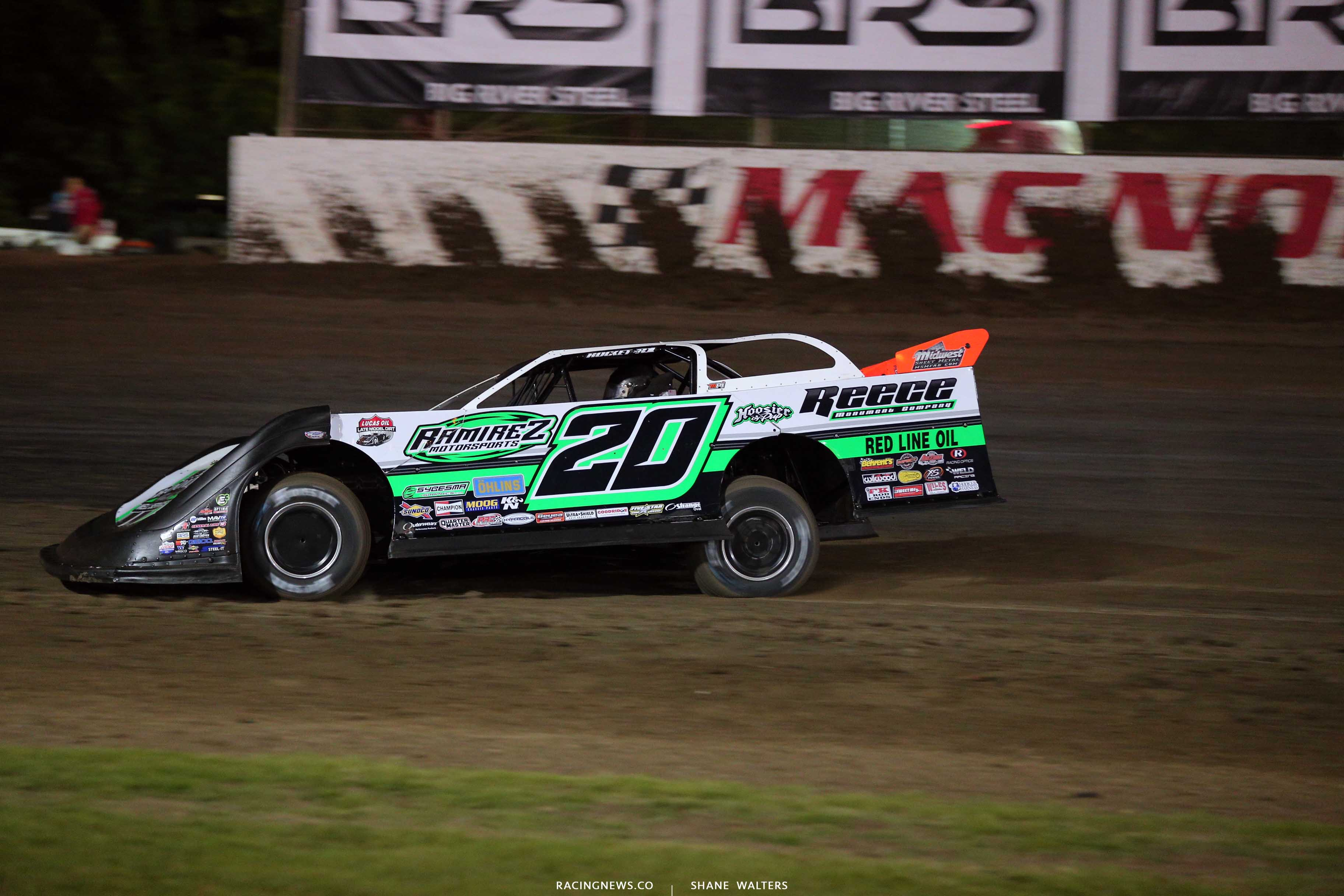 Jimmy Owens at Magnolia Motor Speedway - Lucas Oil Late Model 6838
