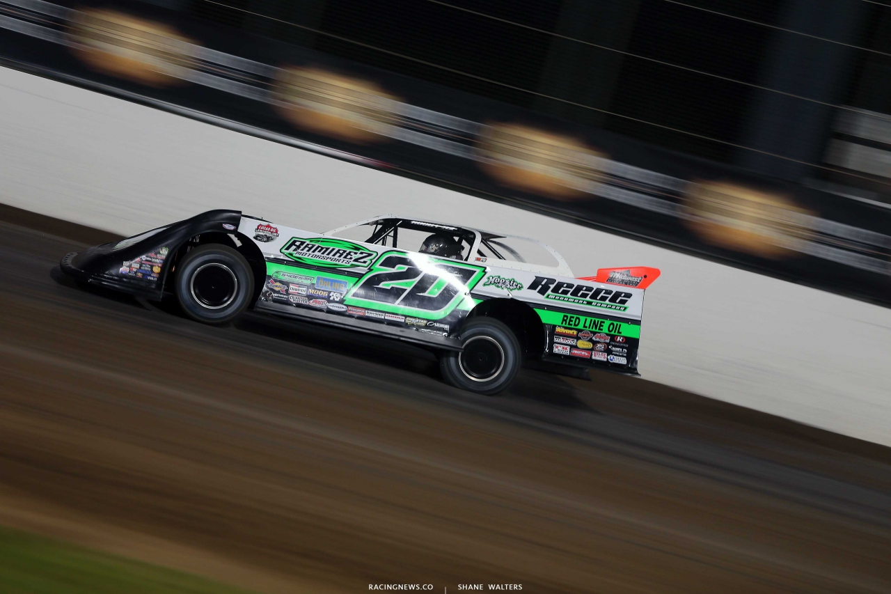 Jimmy Owens at Magnolia Motor Speedway - Lucas Oil Series 6603