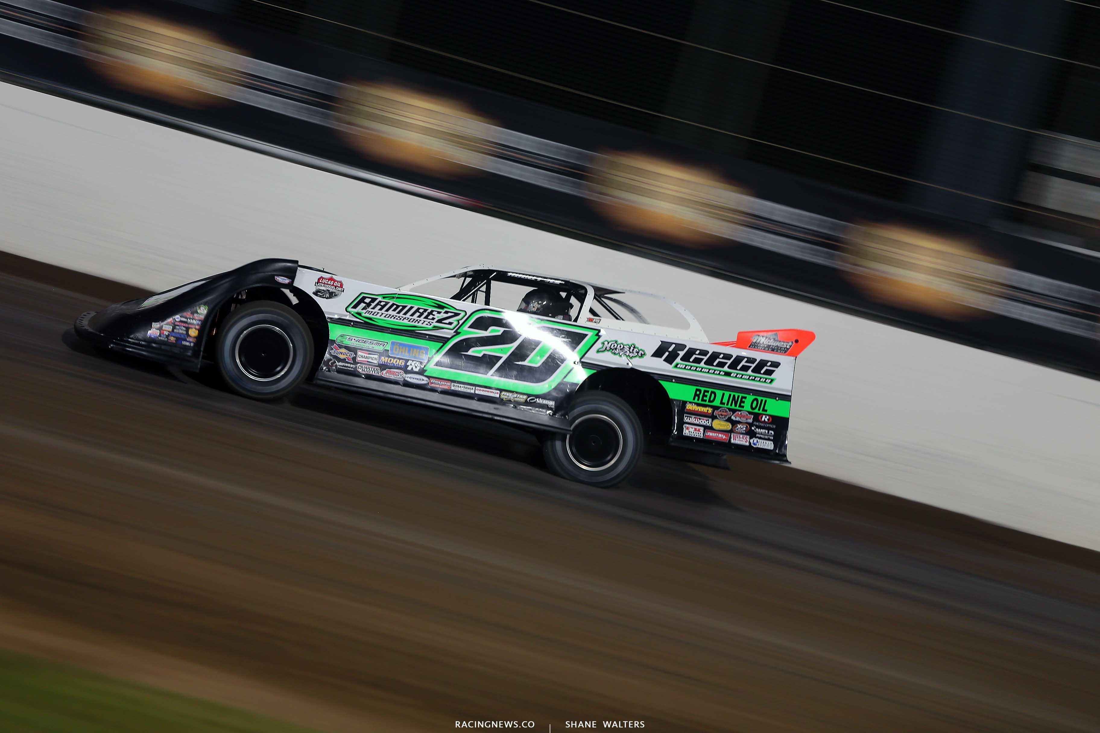 Jimmy Owens at Magnolia Motor Speedway - Lucas Oil Series 6603