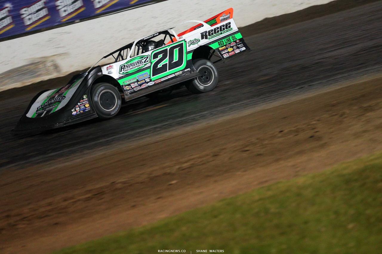 Jimmy Owens at Magnolia Motor Speedway - Lucas Series 7136