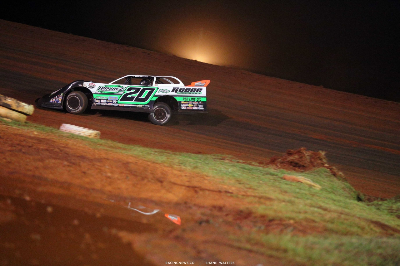 Jimmy Owens on the Talladega Short Track - Lucas Oil Series 7655