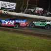 Josh Richards and Jimmy Owens at Magnolia Motor Speedway - Lucas Oil Late Models 6901