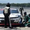 Justin Haley on pit lane at Pocono Raceway - NASCAR Xfinity Series