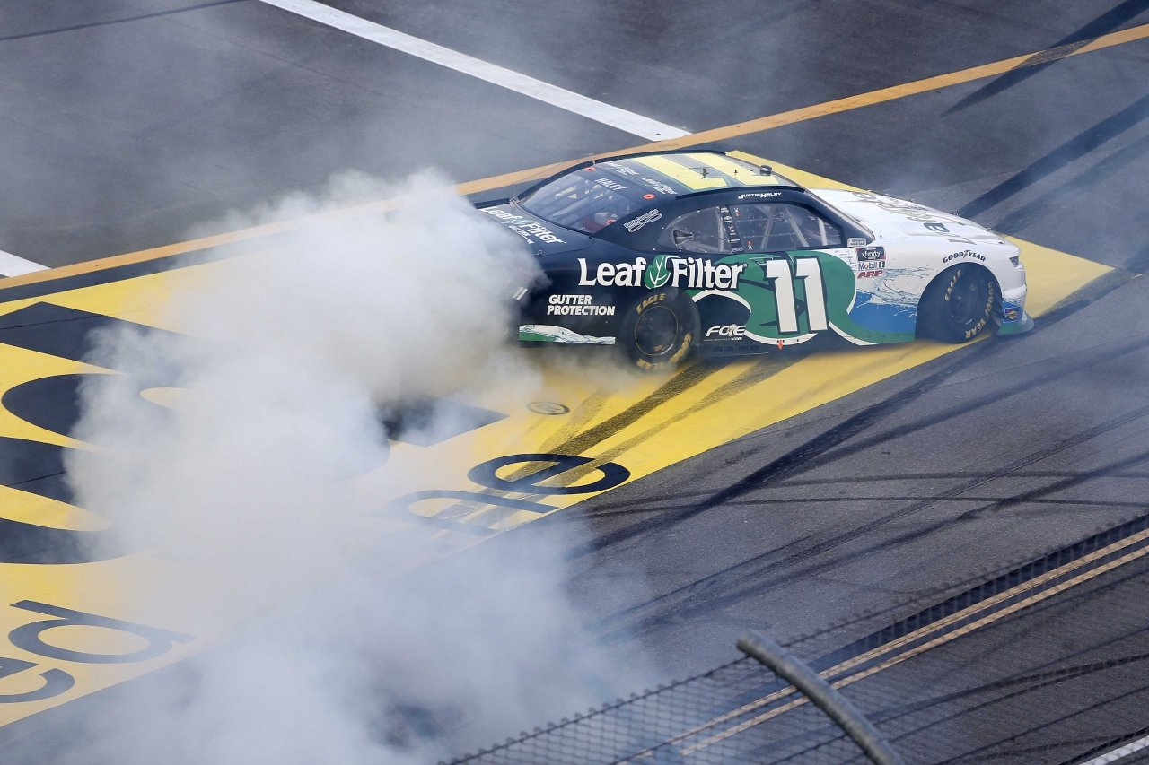 Justin Haley wins at Talladega Superspeedway - NASCAR Xfinity Series