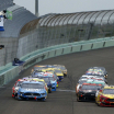 Kevin Harvick and Joey Logano at Homestead-Miami Speedway - NASCAR Cup Series