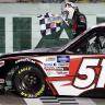 Kyle Busch at Homestead-Miami Speedway - NASCAR Truck Series