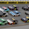 Kyle Busch leads Christopher Bell, Cole Custer, Bubba Wallace, Jimmie Johnson and William Byron at Talladega Superspeedway - NASCAR