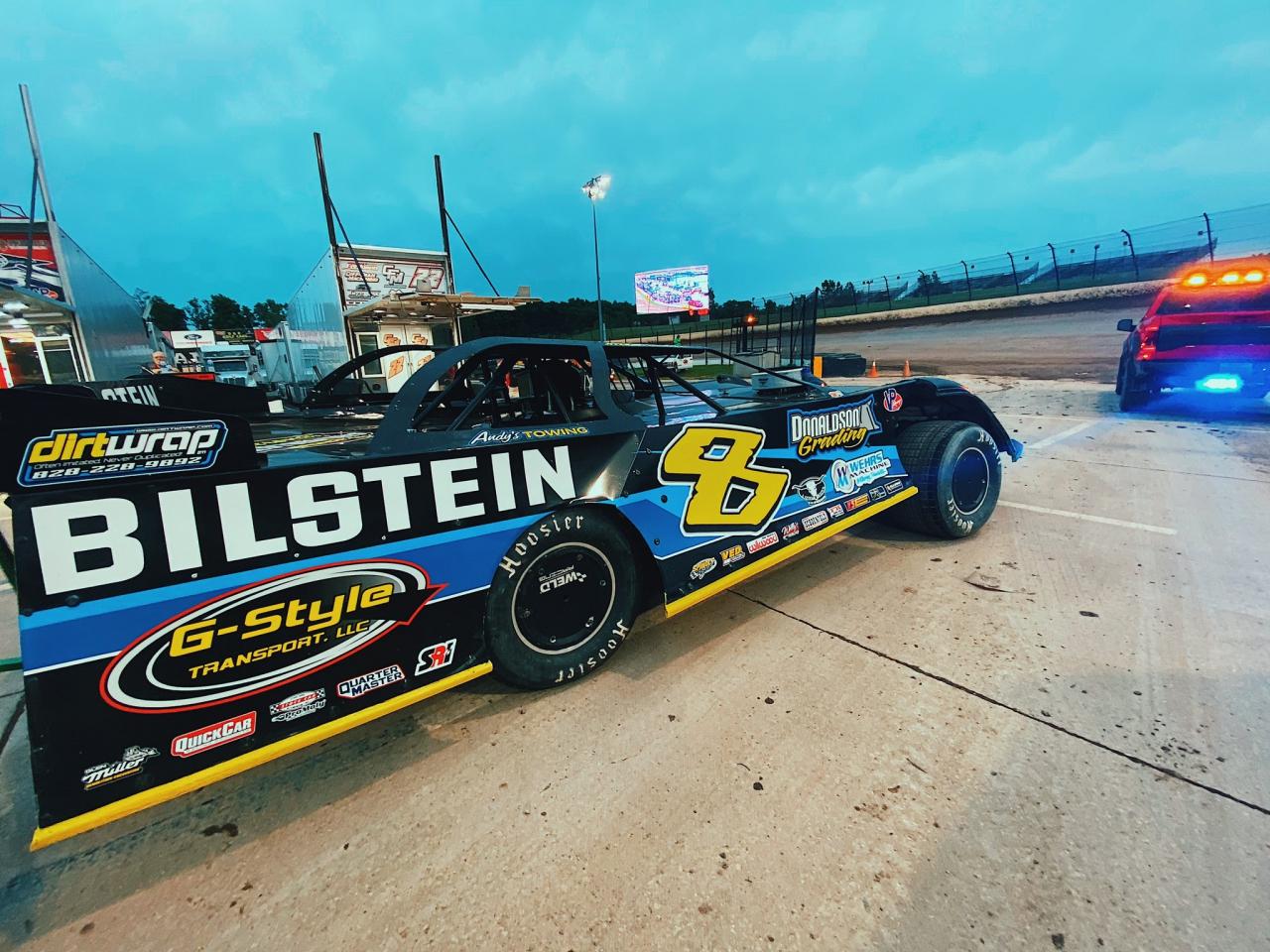 Kyle Stricker at Eldora Speedway