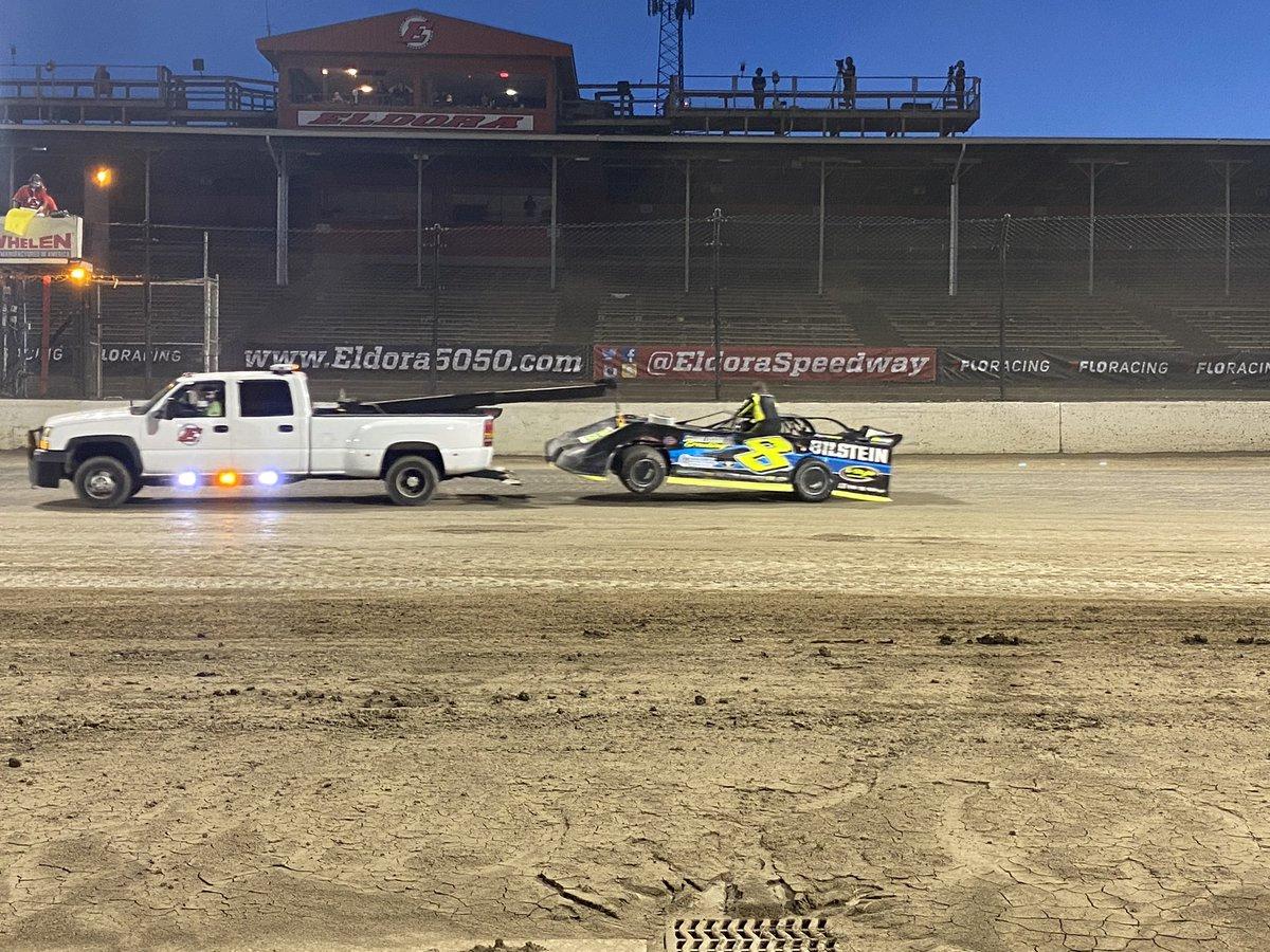 Kyle Strickler at Eldora Speedway