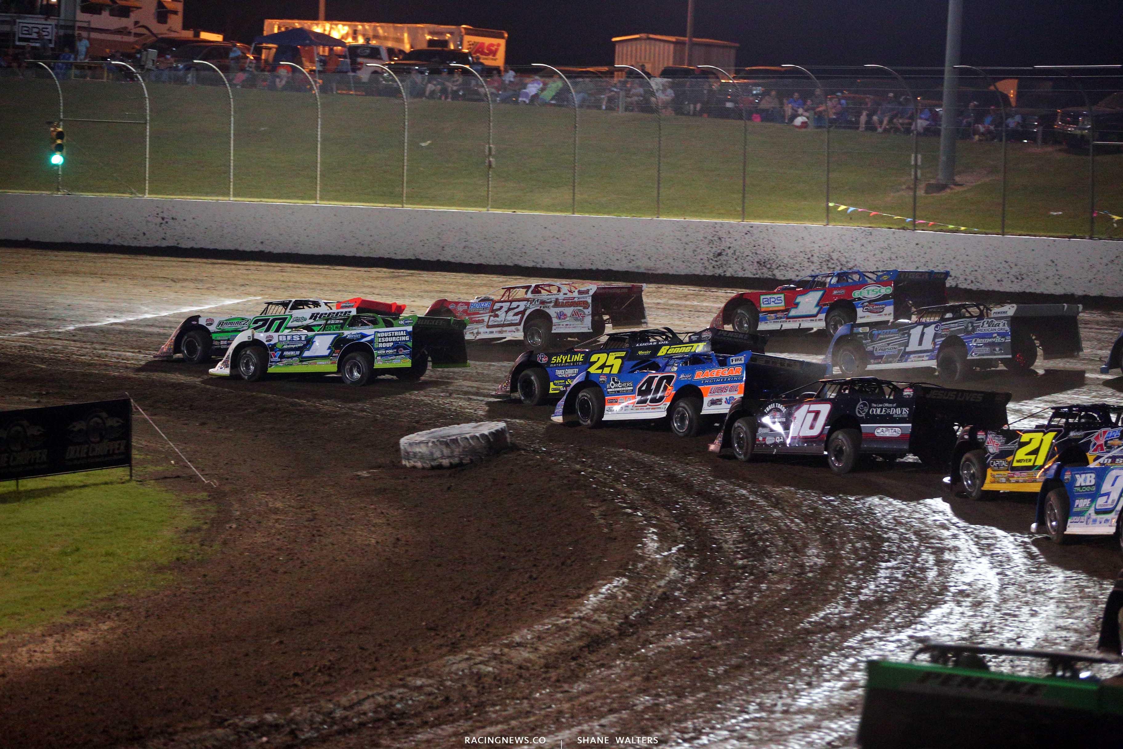 Lucas Oil Late Model Dirt Series at Magnolia Motor Speedway 6197