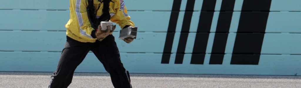 Chase Briscoe drops tungsten on track at Homestead-Miami Speedway