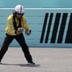 NASCAR safety official picks up tungsten at Homestead-Miami Speedway