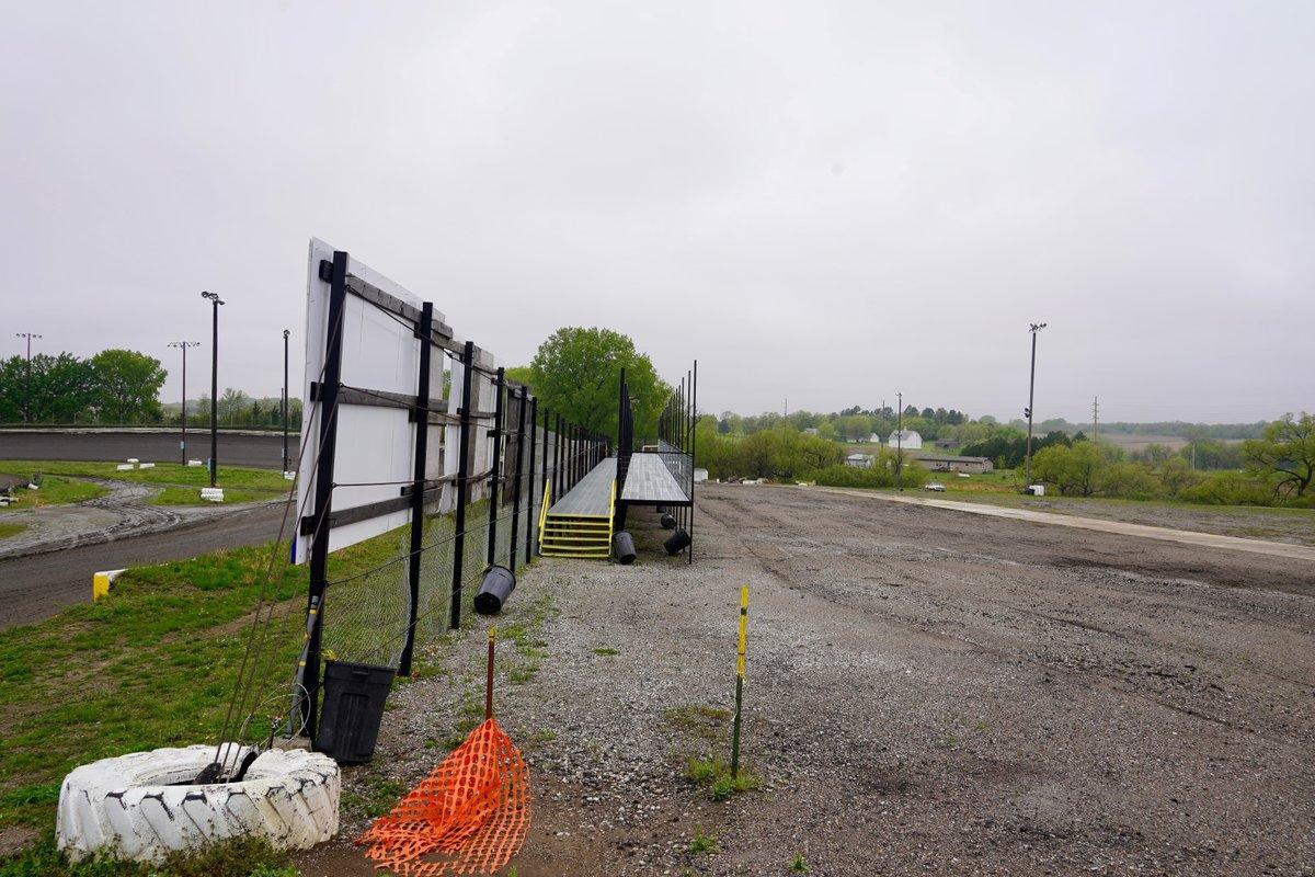 Pit standing - Eagle Raceway
