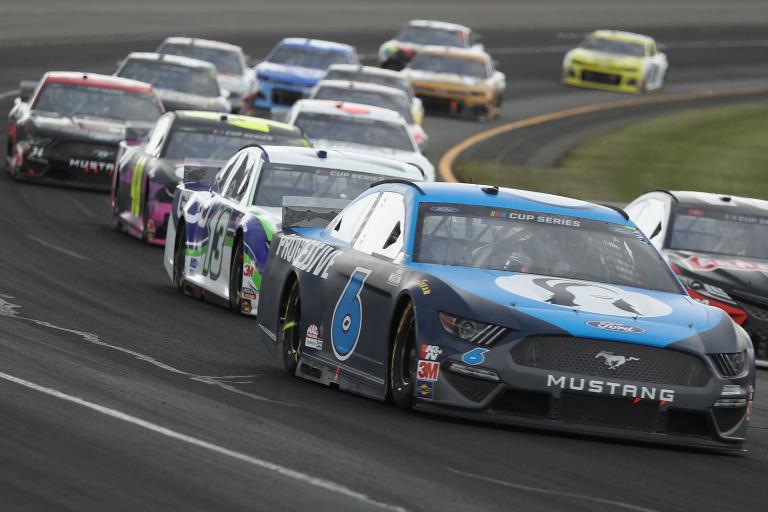 RYan Newman at Pocono Raceway - NASCAR Cup Series