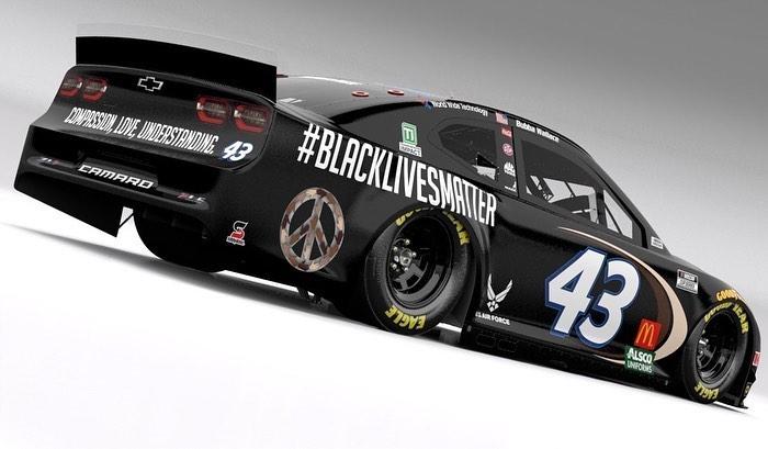 Richard Petty Motorsports - Black Lives Matter car