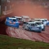 Ross Bailes and Kyle Bronson at Cherokee Speedway 5550