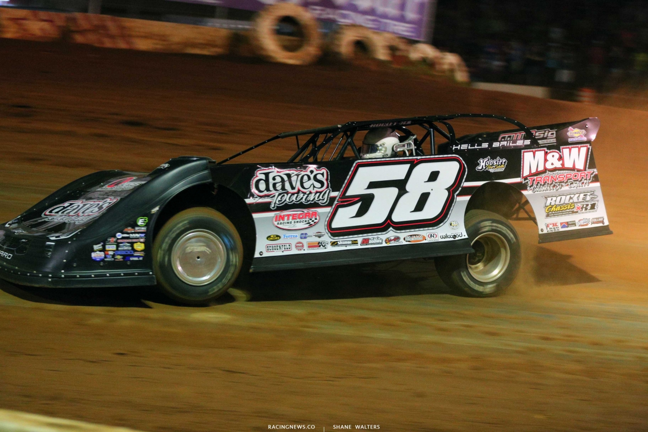 Ross Bailes at Cherokee Speedway - Lucas Dirt 5653